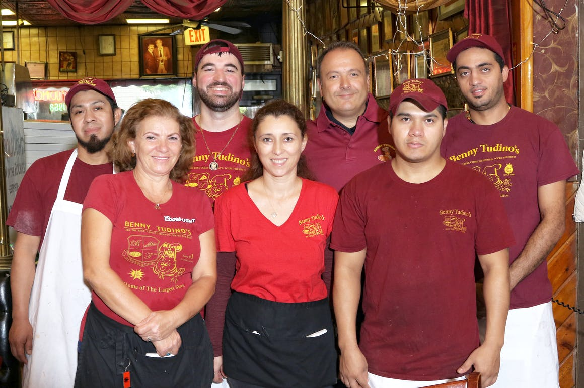 Benny Tudino's Pizzeria's restaurant story