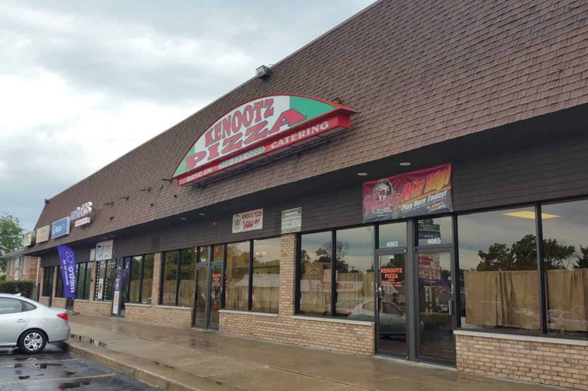 Kenootz Pizza's restaurant story
