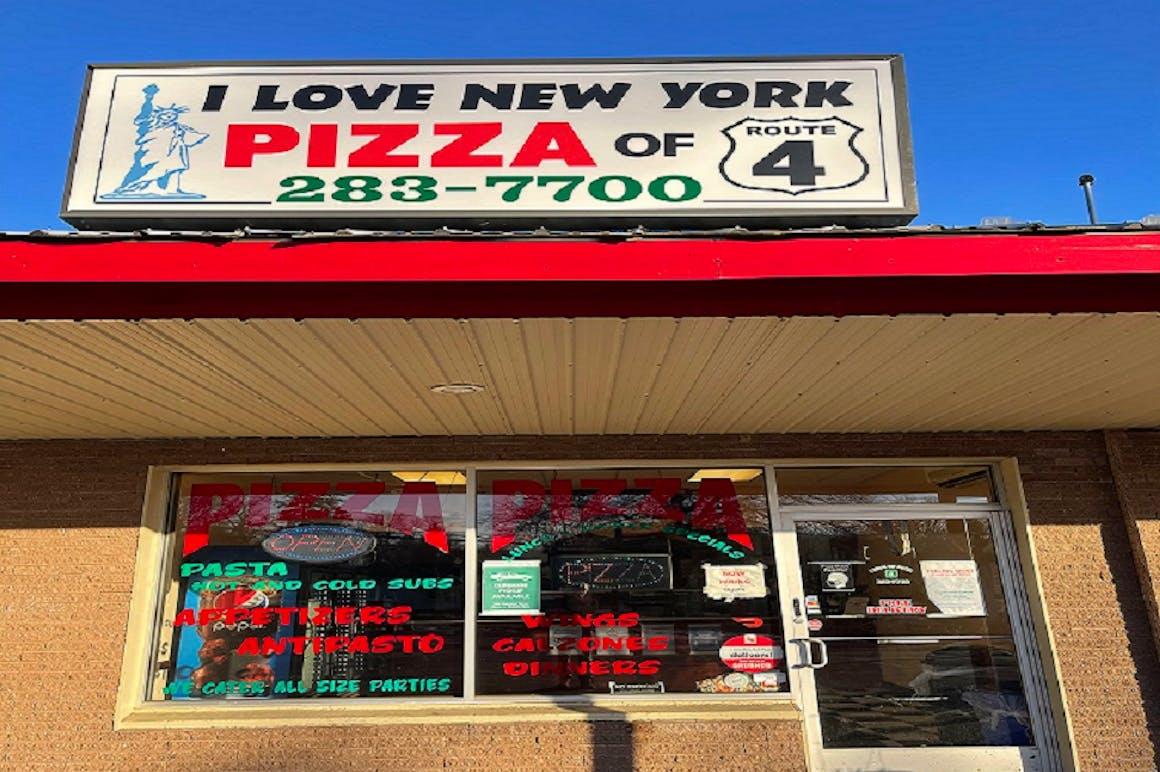 I Love New York Pizza's restaurant story