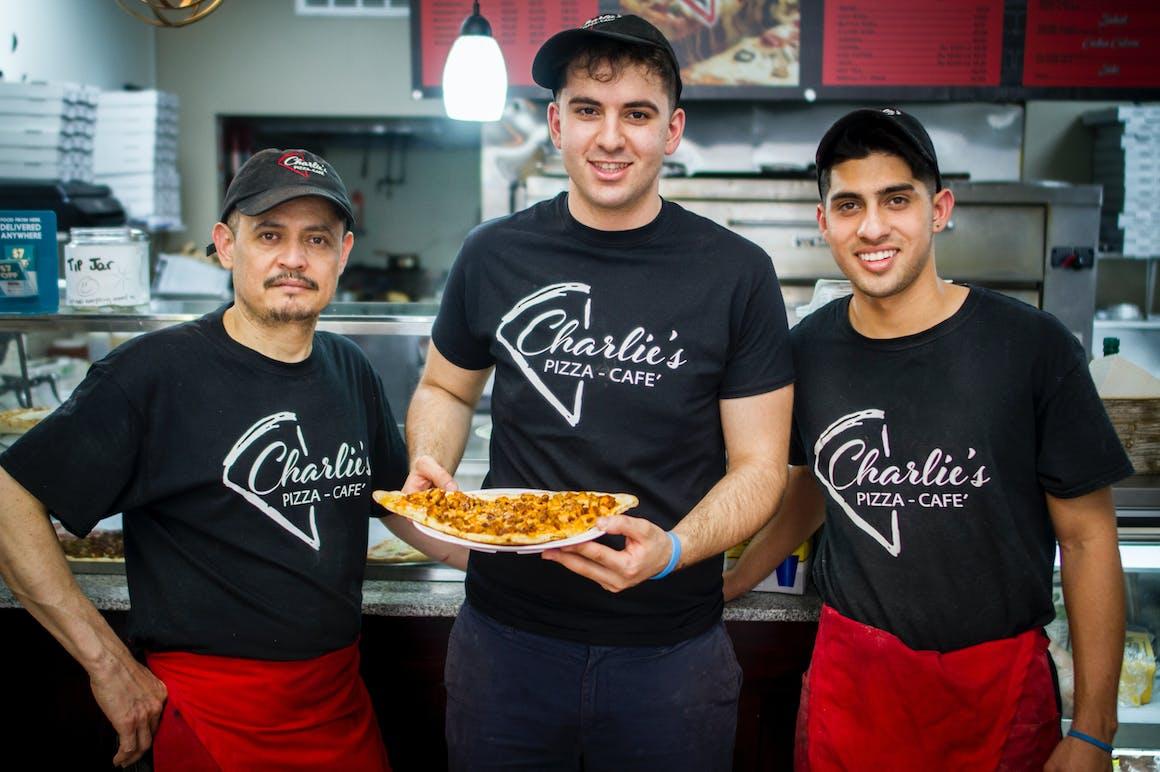 Charlie's Pizza Cafe's restaurant story