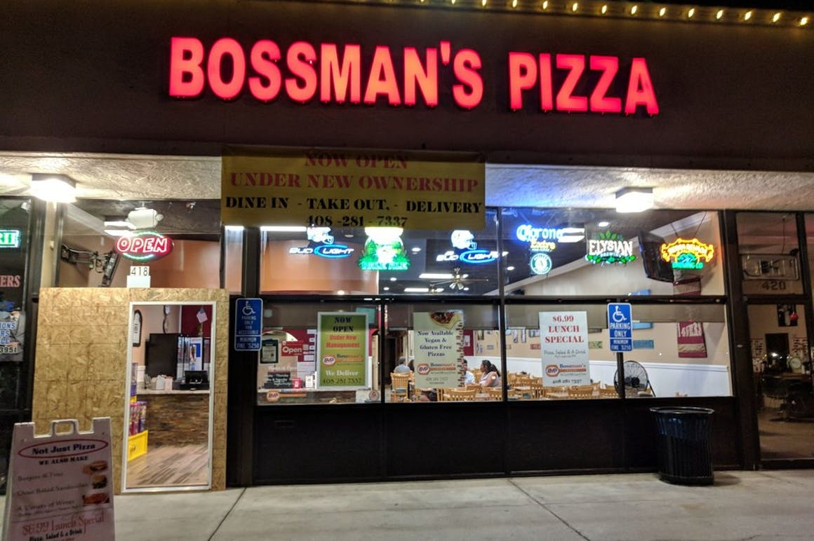 Bossman's Pizza's restaurant story
