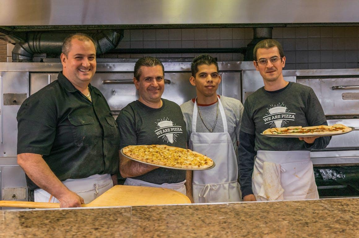 M&S Pizza The Original 's restaurant story