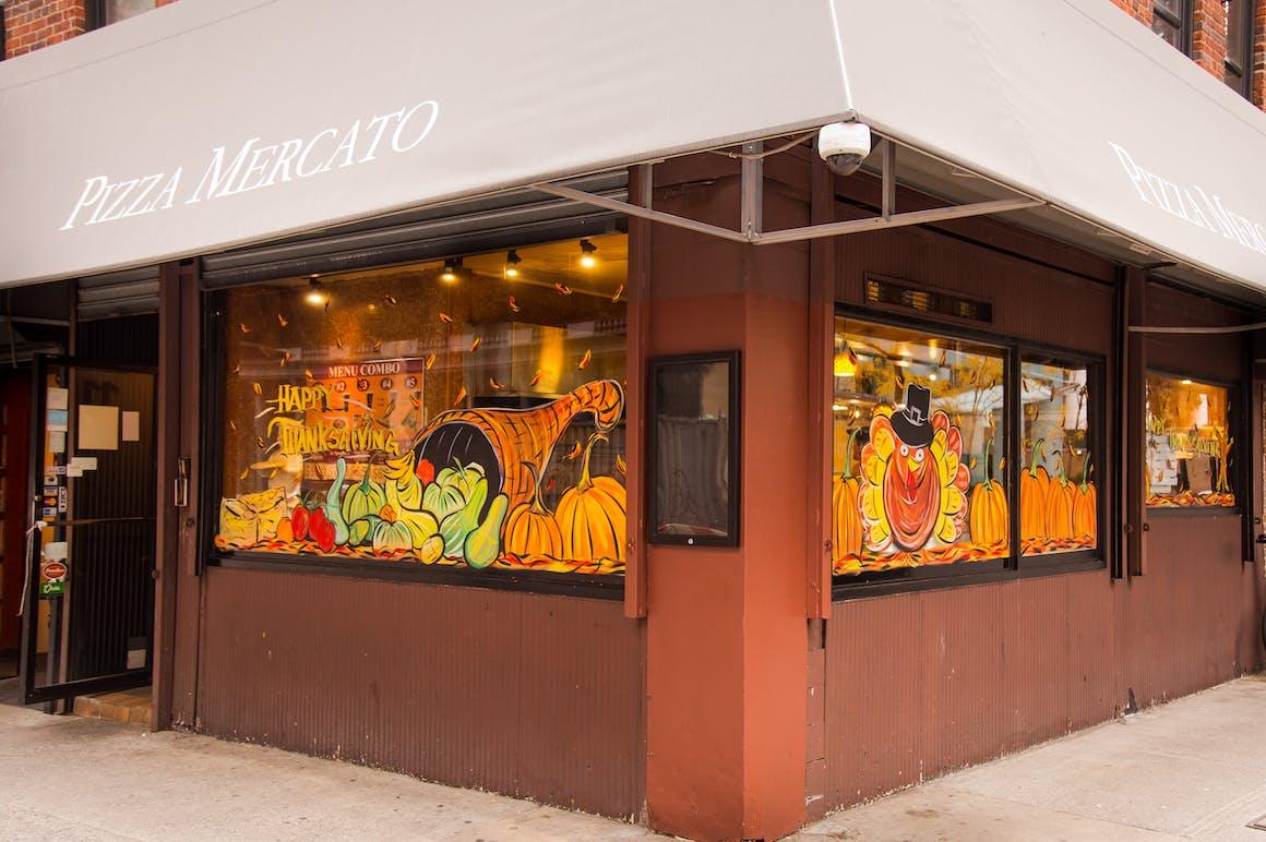 Pizza Mercato's restaurant story