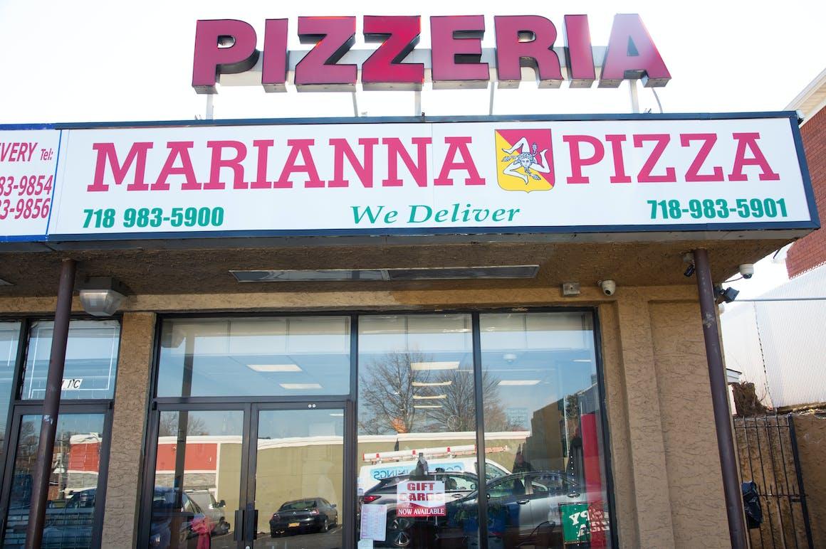 Marianna's Pizza's restaurant story