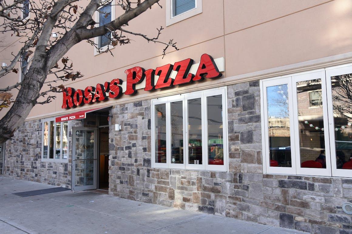 Rosa's Pizza's restaurant story