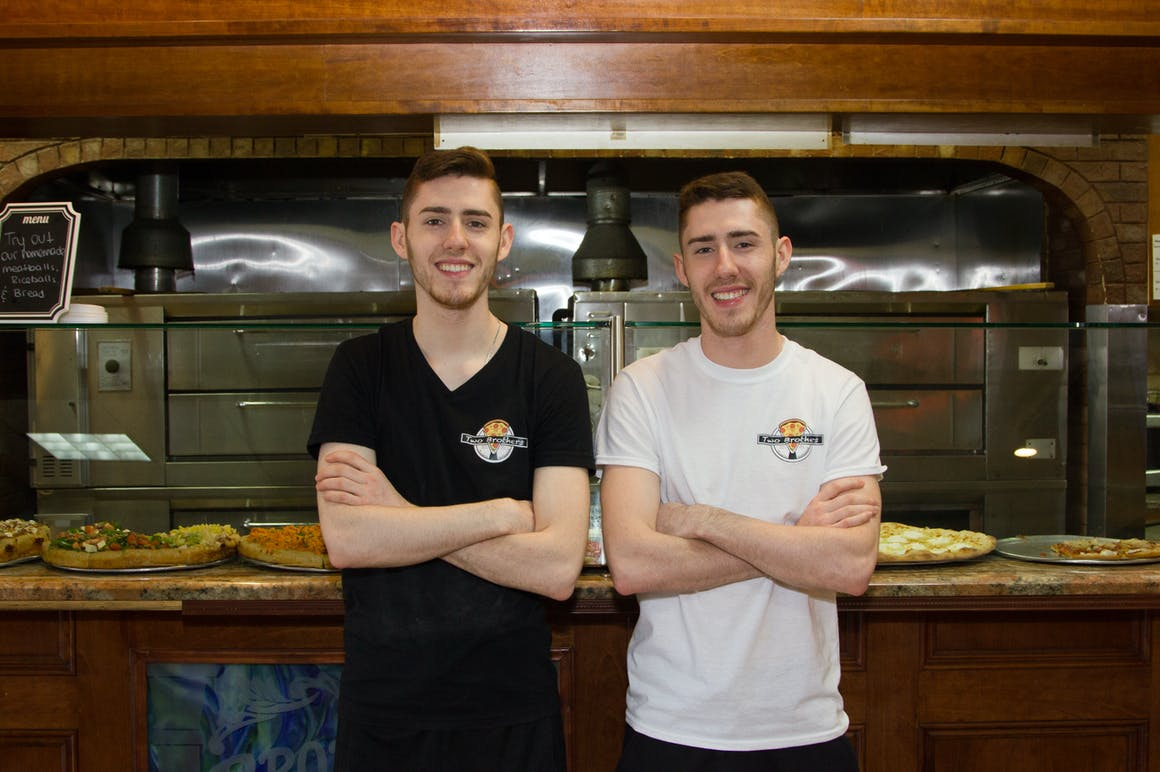 Two Brother's Pizzeria's restaurant story