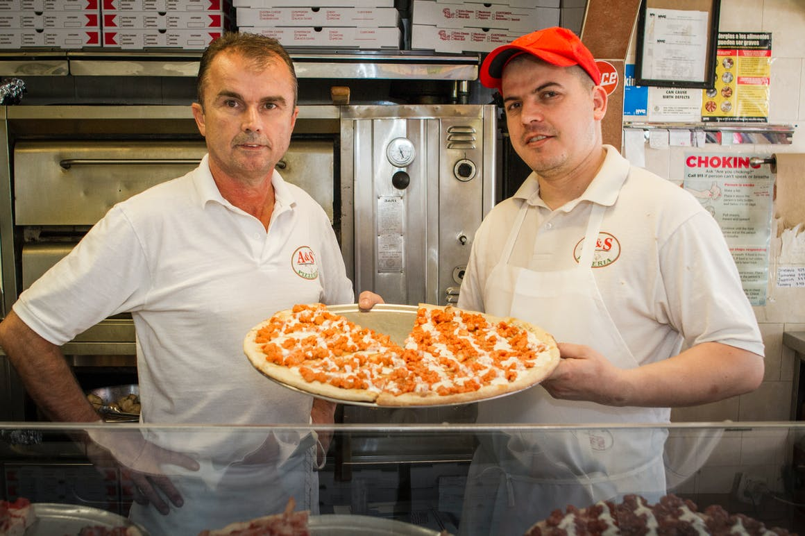 A & S Pizza's restaurant story