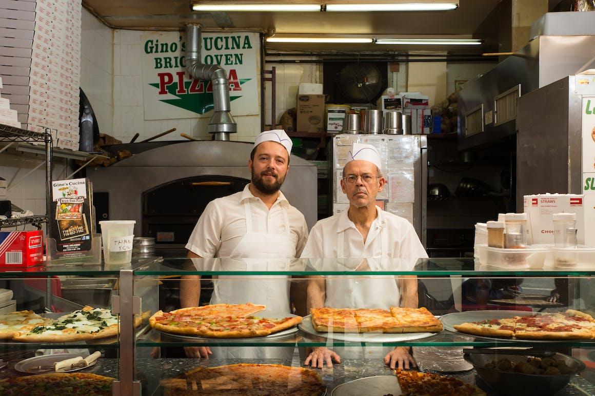Gino's Cucina Brick Oven Pizza's restaurant story