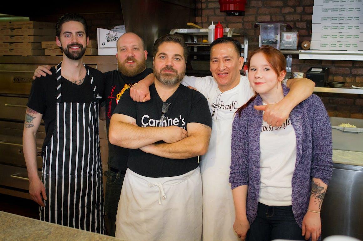 Carmine's Pizza Factory's restaurant story