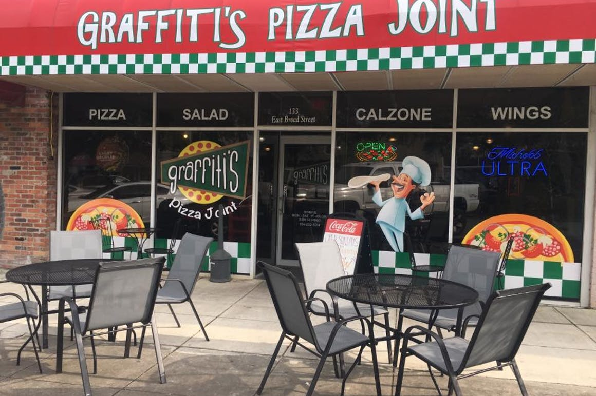 Graffiti's Pizza Joint's restaurant story