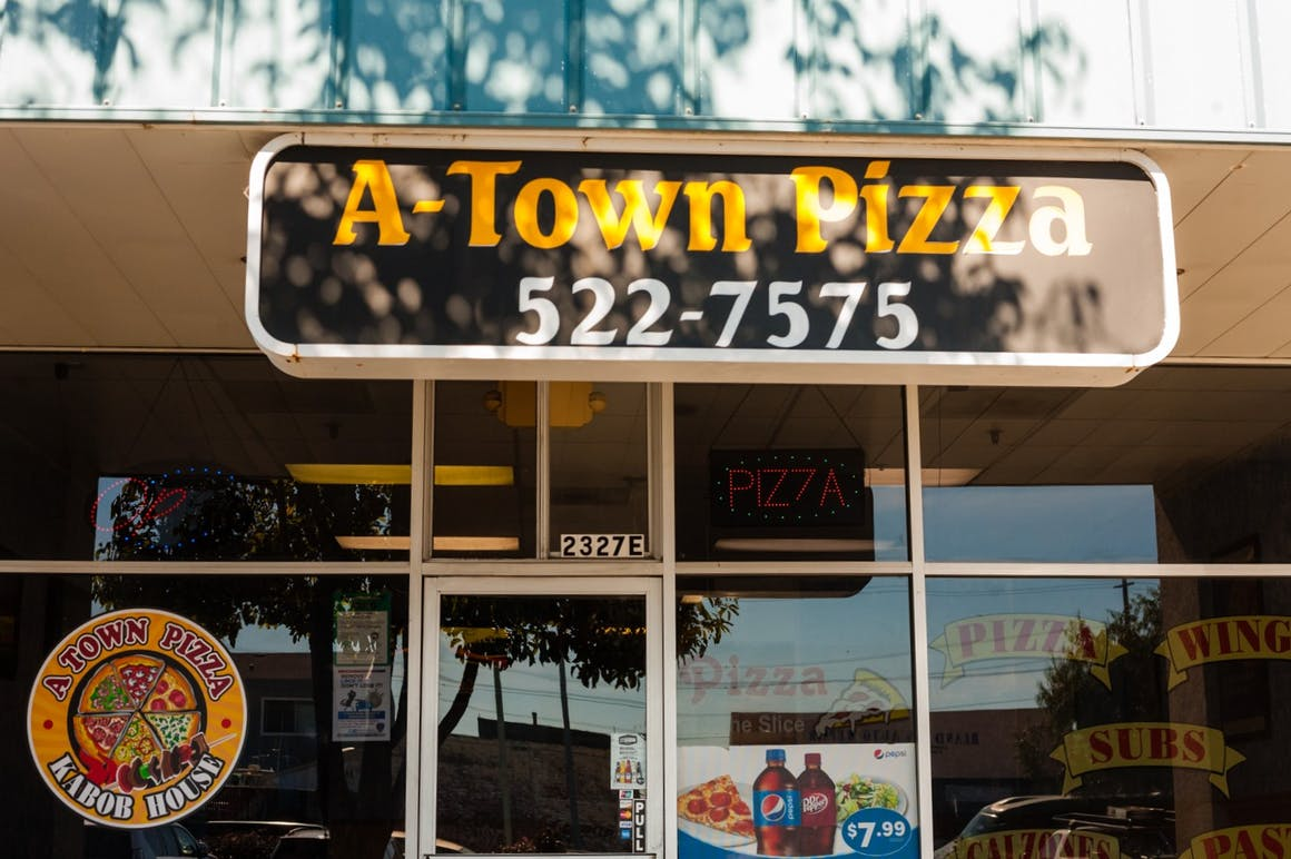 A-Town Pizza's restaurant story