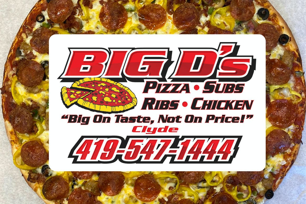Big D's Pizza's restaurant story