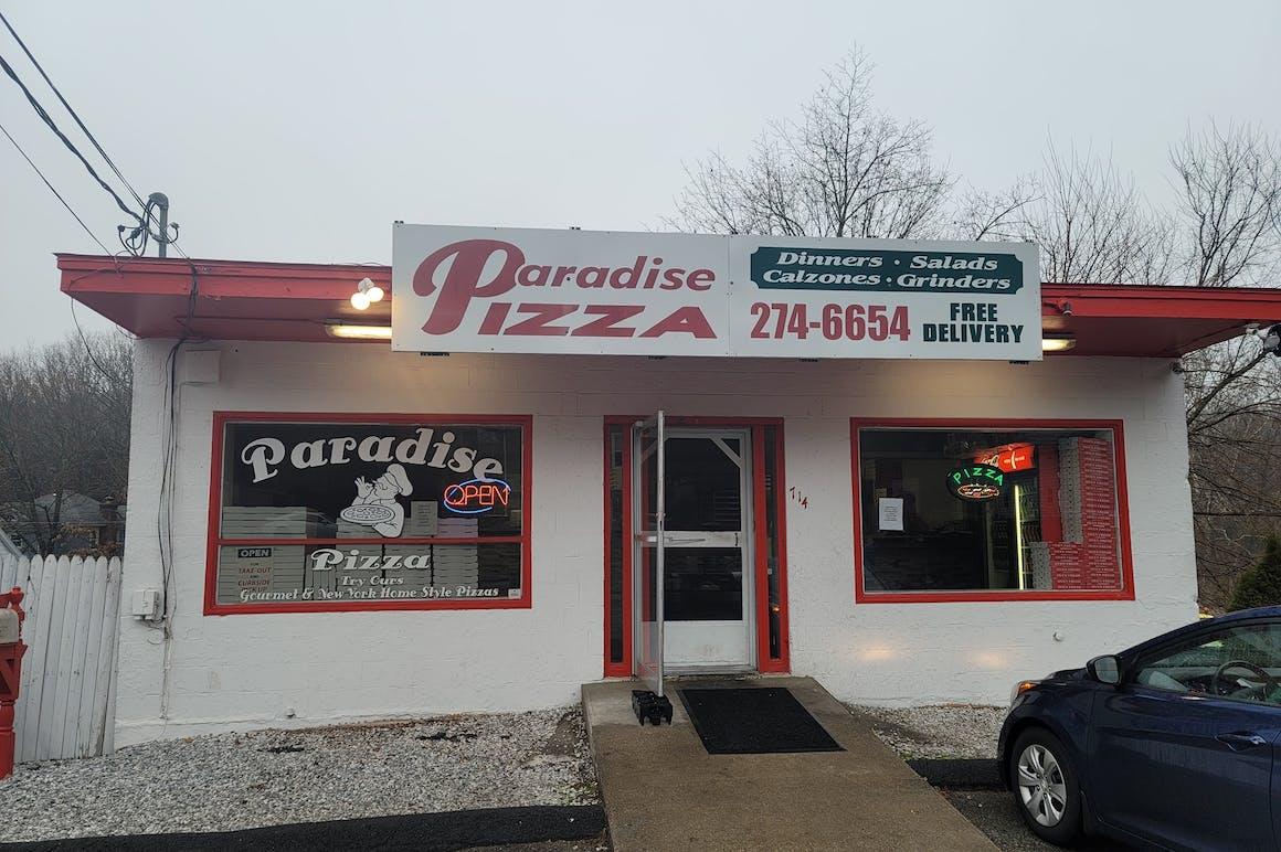 Paradise Pizza's restaurant story