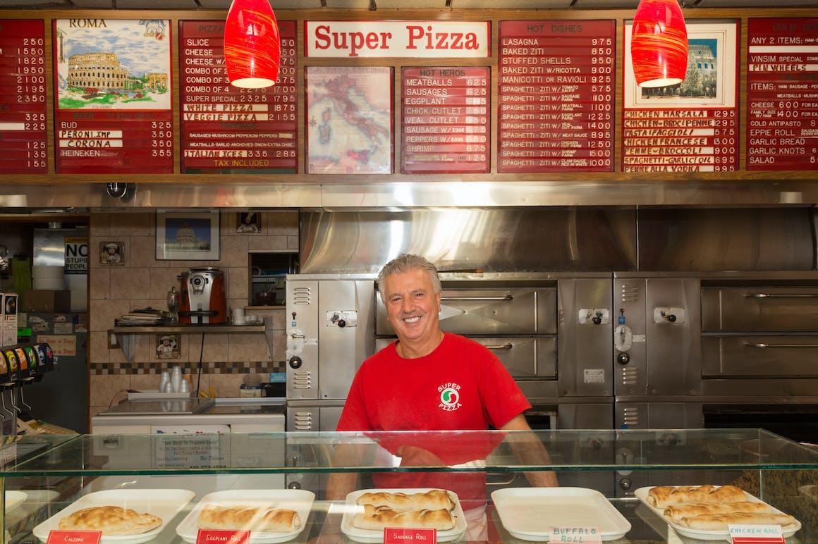 Super Pizza's restaurant story