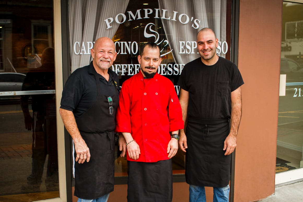 Pompilio's Pizzeria & Restaurant's restaurant story